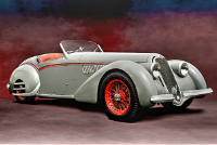 Alfa Romeo 8C 2900B Corto Touring Spyder, #412018, Unrestored, 1938